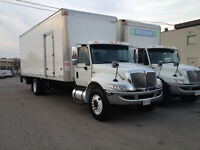2012 INTERNATIONAL 4300 - 26 FT. BOX