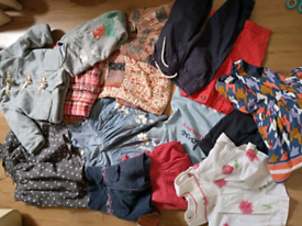 Bundle of baby and children's clothes