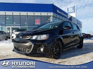 2017 Chevrolet Sonic Premier  RS-Leather-Sunroof-Rearview Camera
