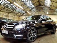 2012 Mercedes-Benz C Class 2.1 C220 CDI BlueEFFICIENCY AMG Sport Plus Coupe