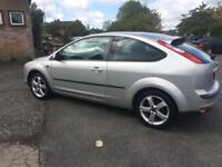 2007 FORD FOCUS 1.8 125 SPORT S FULL MOT 115K TIDY DRIVES FAB HISTORY PX SWAPS