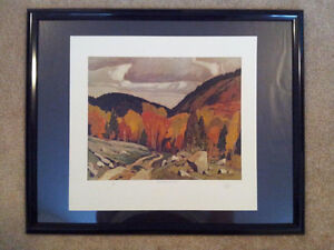 """A.J. Casson """"Road at Yantha Lake"""" Lithograph - Appraised at $650 London Ontario image 5"""
