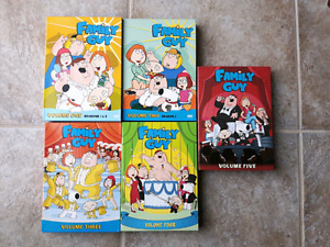 Family Guy Seasons 1-5 (Watched only once)