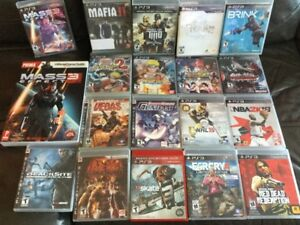 Tekken, Red Dead, NBA, NHL, Narotu, Ni No Kuni et ++