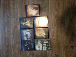 X Files Season 1,2,3,4,5,6,7  - 6 Blue Ray and 1 DVD