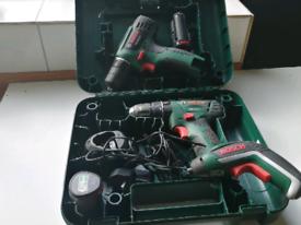 Cordless Bosch (green)