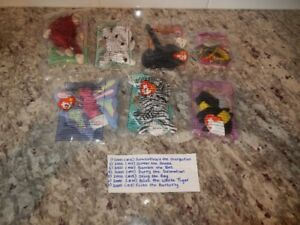 McDonalds Collectable TY Beanie Babies (x7) Lot #3