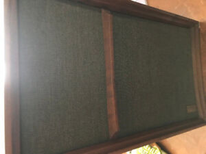 Vintage Wharfdale w 60d Speakers working very good condition all