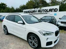image for 2018 BMW X1 2.0 20i GPF M Sport DCT sDrive (s/s) 5dr SUV Petrol Automatic