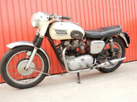 TRIUMPH TIGER T110 1962 649cc Matching Numbers - One Previous Owner