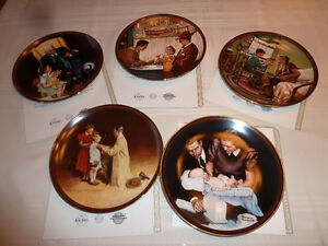 Norman Rockwell Collector Plates – 'The Ones We Love' series