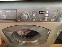 HOTPOINT AQUARIUS+ 1400Spin 7KG Silver Washing Machine