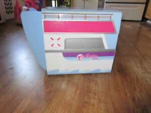 barbie cruiseship and jet in one