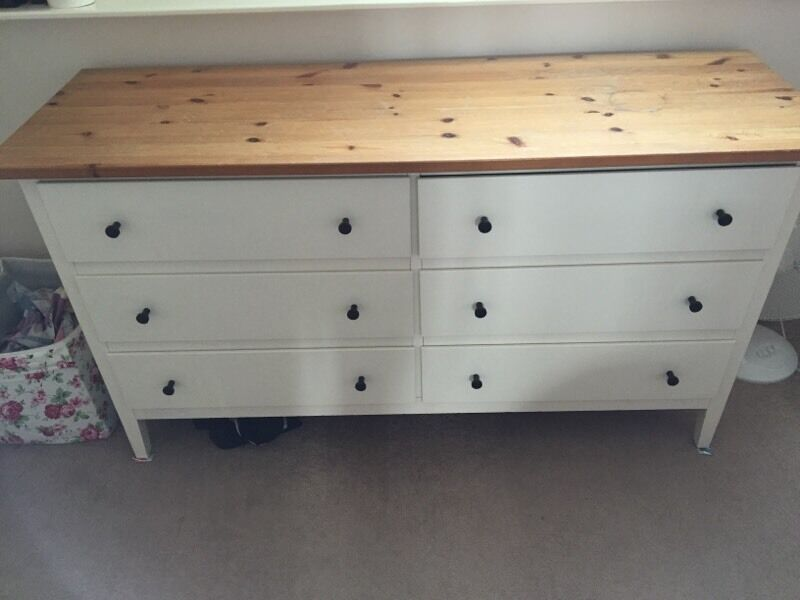 White Visdalen Ikea Drawers In Leicester Leicestershire