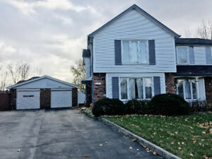 Renovated 3- Bedroom Semi-Detached House for Rent in Mississauga