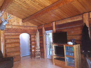 Log home on 10 acres in Fort St James