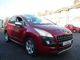 Peugeot 3008 Crossover 1.6HDi ( 110bhp ) FAP EGC Exclusive 2010 / 10
