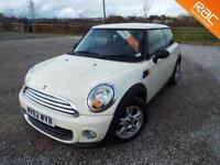 MINI HATCH ONE 2012 Petrol Manual in White