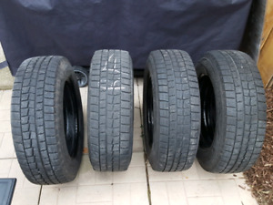 P205/65R16 Dunlop Winter Wheels and tires for sale