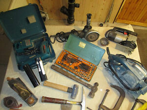 outils, drill, grinder, sableuse, Tap,