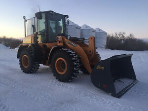 2016 CASE 521F Wheel Loader