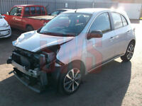 2014 Nissan Micra Tekna 1.2 DAMAGED REPAIRABLE SALVAGE
