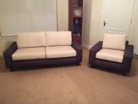 3 Seater Sofa and matching Armchair