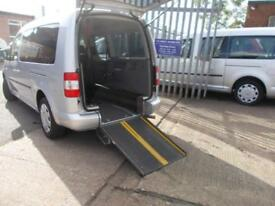 Wheelchair Accessible Volkswagen Caddy Maxi 1.9TDI auto DSG Maxi Life