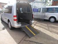 Wheelchair Accessible Volkswagen Caddy Maxi 1.9TDI auto DSG Maxi Life