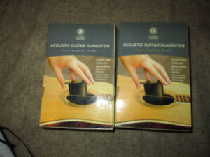 2 acoustic guitar humidifiers