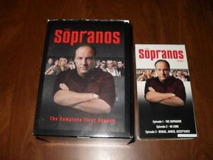 The Sopranos Season one Volume 1 VHS Tape + Collector's Box Gatineau Ottawa / Gatineau Area image 1
