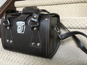 Vintage Genuine Learher Camera Bag