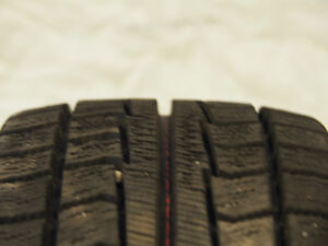 4 Winter Tires 195/60 R 15 + Alloy Rims