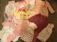 Baby girl bundle (24 items BNWT - inc ted baker) size newborn