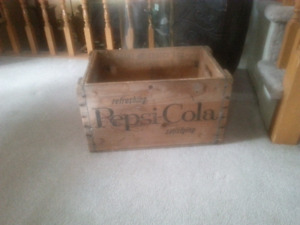 Pepsi-Cola Crate from 7-65