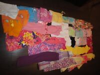 Gros lot + de 50 mcx vêtements ÉTÉ fille 5 ans de marque