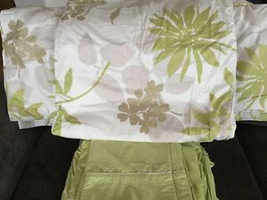 Ed's Linens Eco Green King Sheet and Duvet/Sham Set