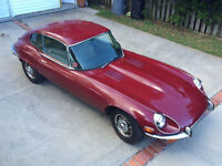 Looking for Jaguar E-type Parts Car Rusted out V12 or other.