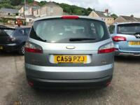 2010 59 Ford S-Max 2.0 TDCi Zetec Turbo Diesel 7 Seater 6 speed Manual Low Miles
