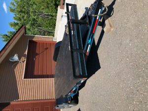 Rainbow 10000GVW equipment hauler flatdeck trailer-16ft
