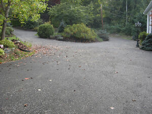 How many ruts and potholes will there be in your muddy driveway.