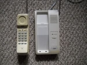 Pulser Cordless Phone with 12 volt  adaptor.