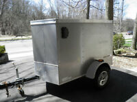 Cargo trailer in excellent condition!
