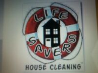 LIFE SAVER CLEANING RELIABLE MATURE CLEANING SERVICE
