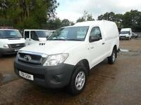 2011 TOYOTA HI-LUX HL2 4X4 D-4D SINGLE CAB WITH AIR CON PICK UP DIESEL