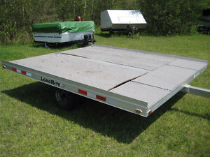 Load Rite Aluminum ATV/UTV/Snowmobile Tilt Trailer