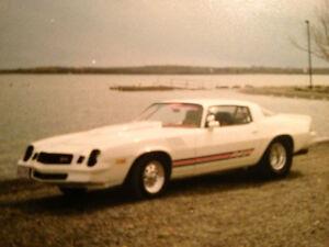 Je recherche une 1978 Camaro Drag