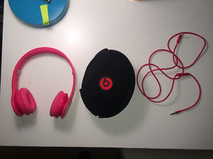 Beats by dre- hot pink solos