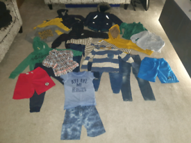 Boys clothing bundle age 5-6 zara , next, nike.