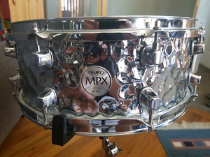 Mapex MPX  Steel Hammered Snare